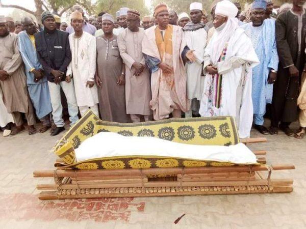Funeral prayers for Kabiru Baleria