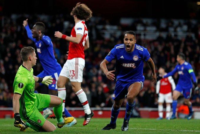 El Arabi shocks Leno and Arsenal