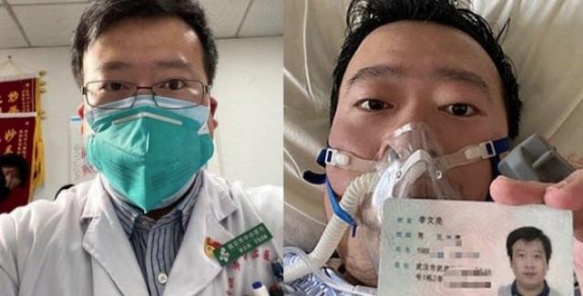 Li Wenliang coronavirus whistleblower dies