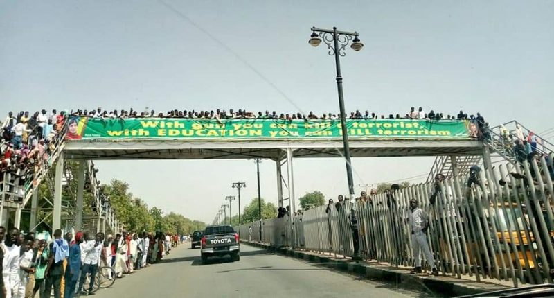 Maiduguri crowd no say' Buhari, we don't want you