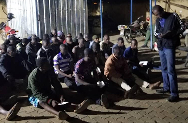 The rescued Ghanaians, lured to Niamey on the promise of jobs