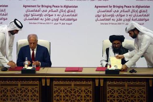 US Taliban agreement