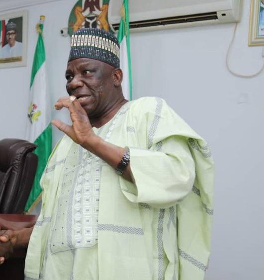 Governor Inuwa Yahaya of Gombe