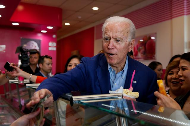 Joe Biden on the campaign