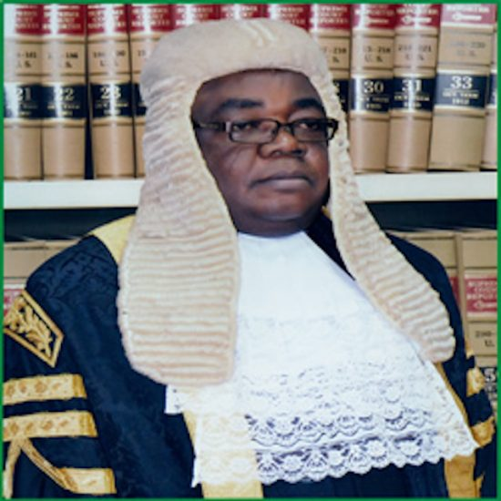 Justice Chima Centus Nweze dissented