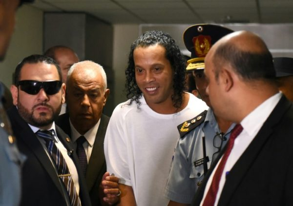 Ronaldinho: now faces a charge for fake passport in Paraguay