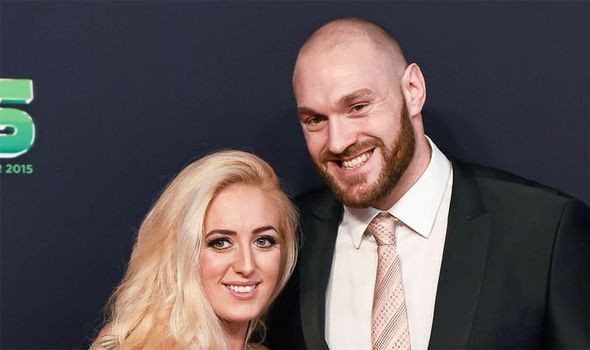 Tyson fury and wife
