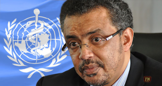 WHO DG Tedro Adhanom Ghebreyesus: a timely warning about fraudsters