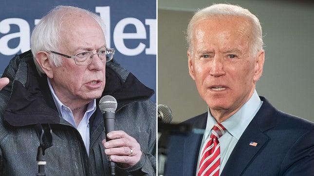 Sanders and Joe Biden