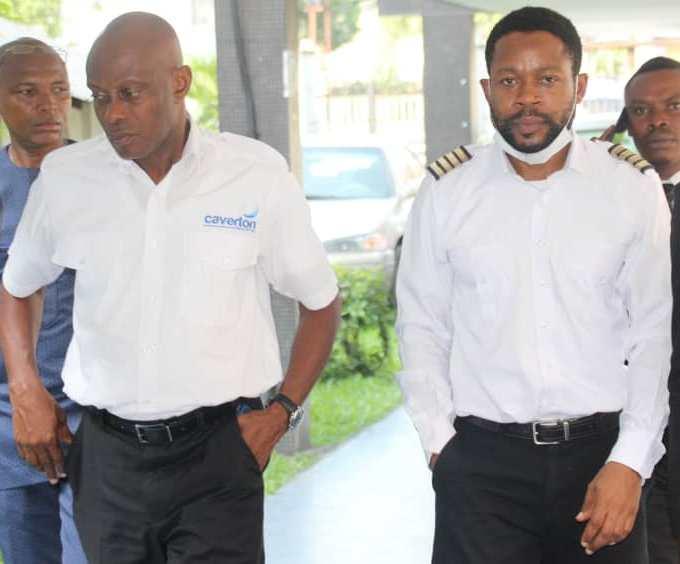 Pilots Samuel Ugorji and Samuel Buhari