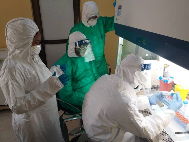 NCDC training lab scientists in Kano for COVID-19 testing