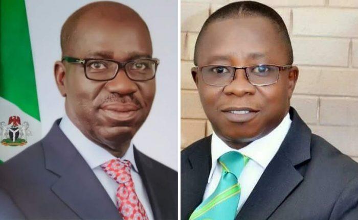 Godwin Obaseki and Samson Osagie