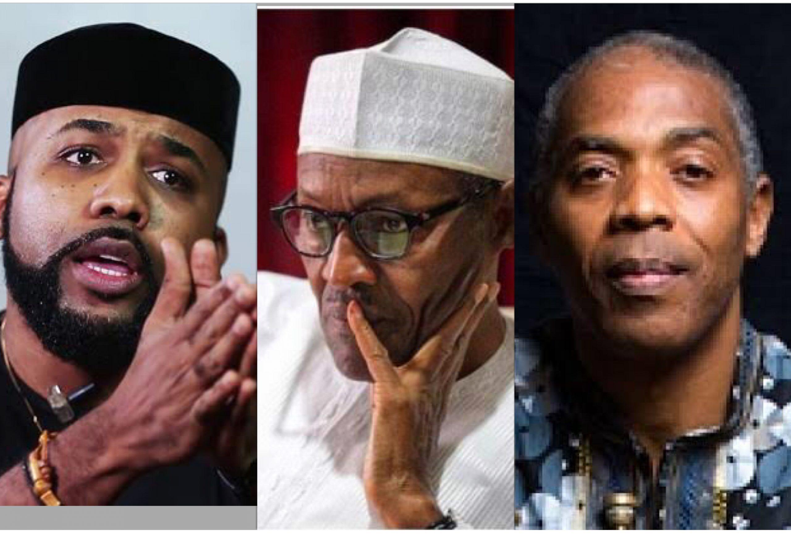 Banky W, Buhari and Femi Kuti