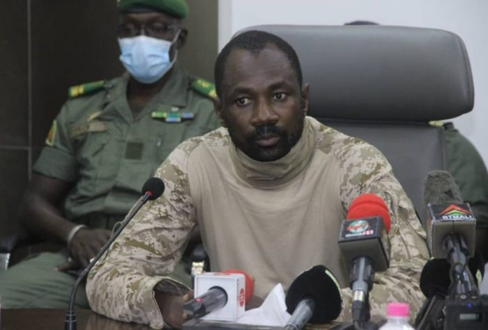 Colonel Assimi Goita
