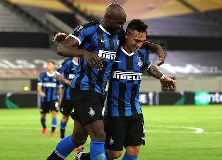 Inter Milan strikers Lukaku and Martinez