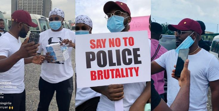 Photos-From-The-Ongoing-EndSars-Protest-Led-By-Runtown-And