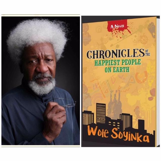 Professor Wole Spyinka and his new novel2