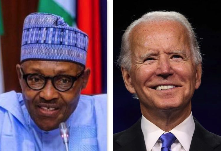 President Buhari and US President-elect Joe Biden