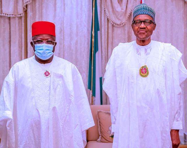 Umahi and Buhari