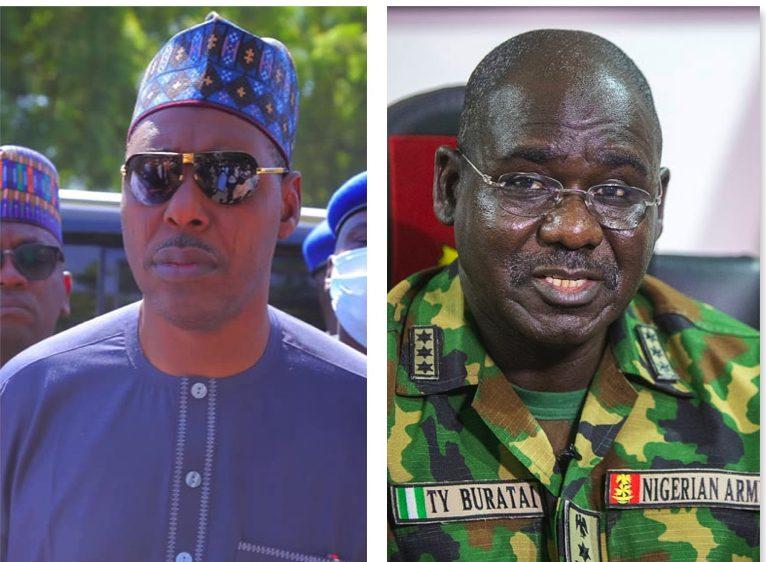 Governor Zulum blasts Buratai's Nigerian Army