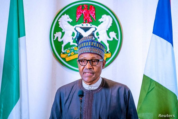 Nigerian President Muhammadu Buhari addresses the nation on the coronavirus disease (COVID-19), in Abuja