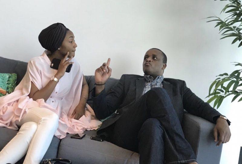 Zarah Muhammadu Buhari Indimi and her hubby Ahmed Indimi