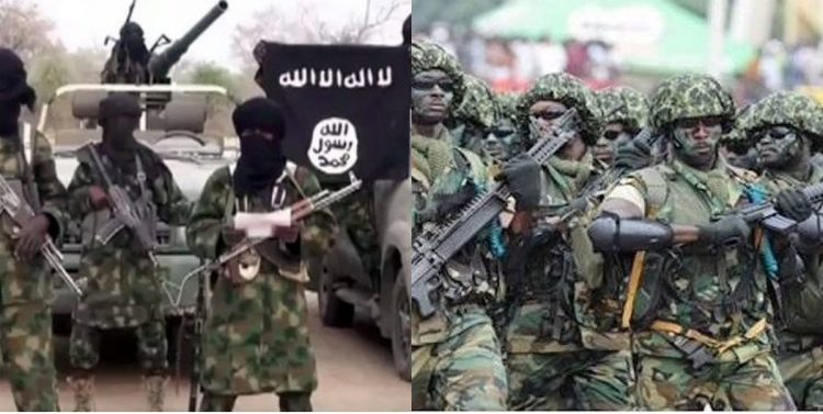 ISWAP and Nigerian troops