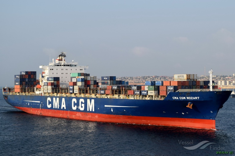 Mozart container ship