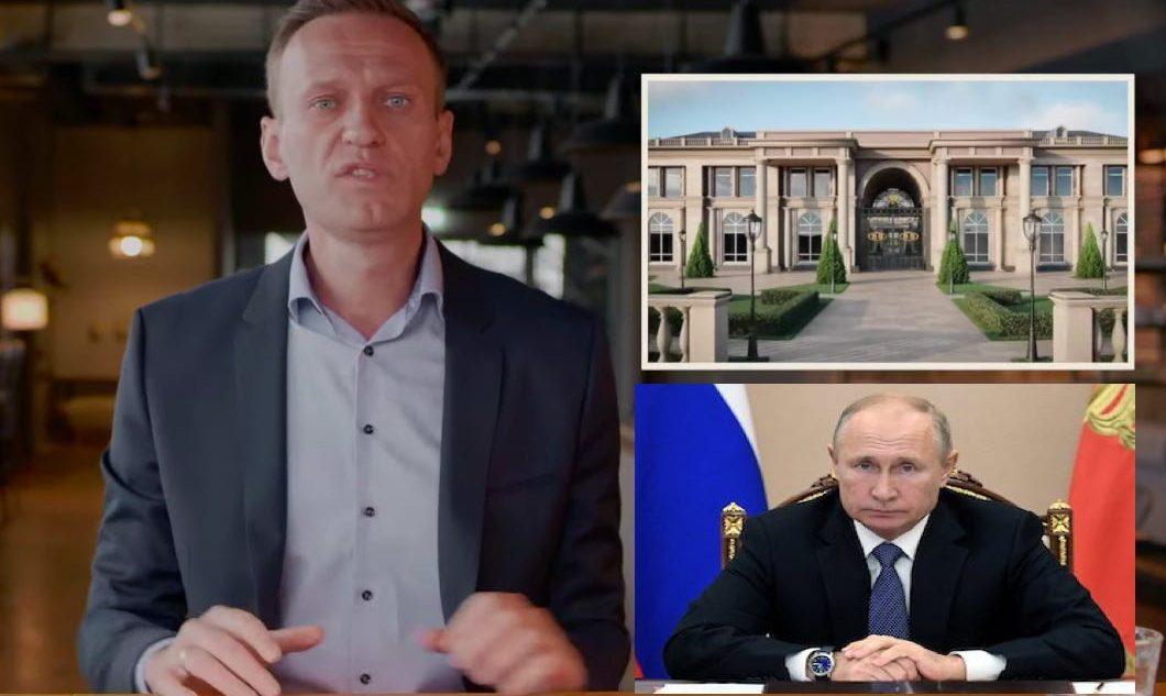 Navalny reveals Putin's $1.35b palace . Photo Business Insider
