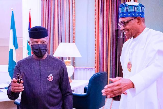 Osinbajo and Buhari on Tuesday