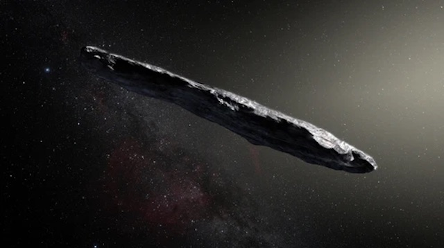 Oumuamua a natural object or from aliens in outer space?