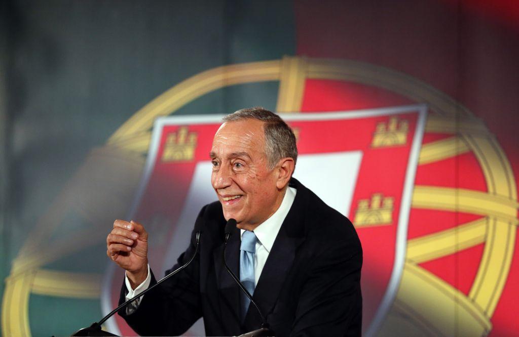 Portugal-Presidential President Marcelo Rebelo de Sousa