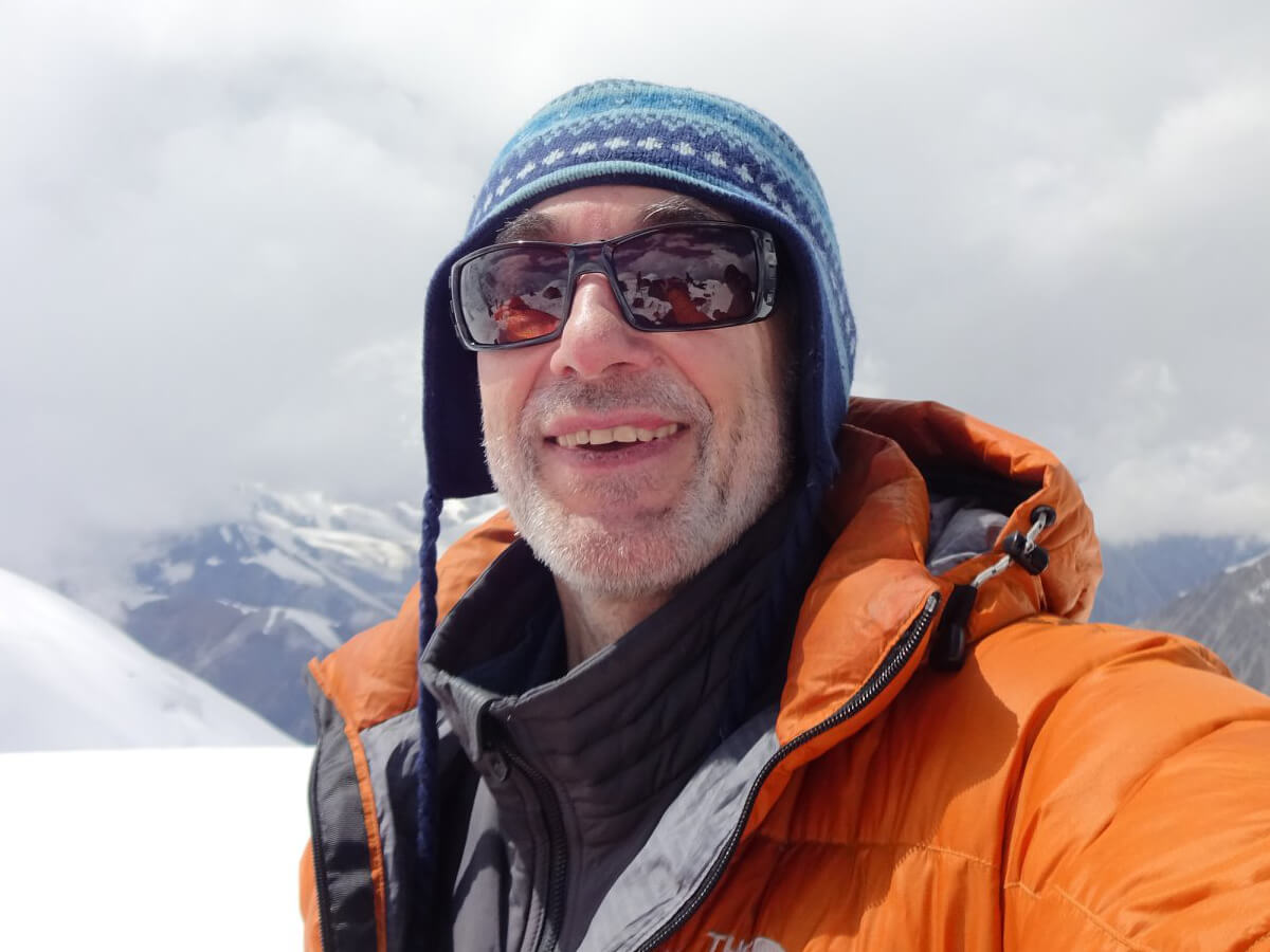 Russian-American mountaineer Alex Goldfarb