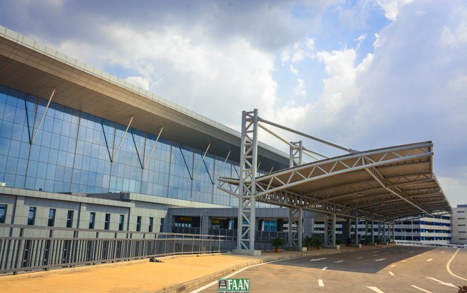 The new Murtala Muhammed Airport in Lagos