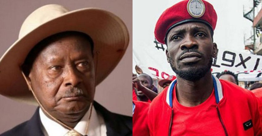 bobi-wine-Museveni