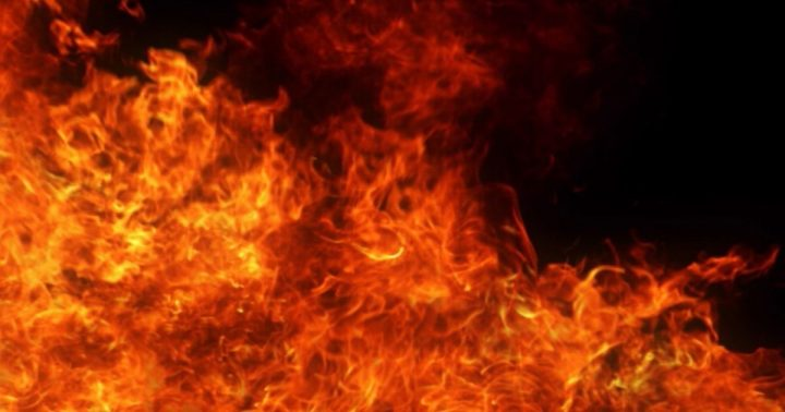 Fire guts Enorsto filling station, Enugu.