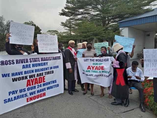 magistrates' protest