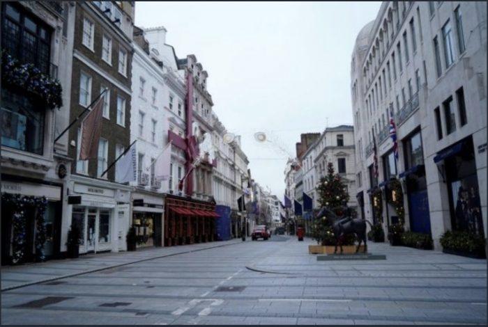 Bond Street in london- The Vatican has properties here