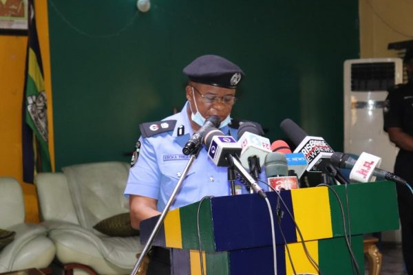 CP Eboka Friday, Commissioner of Police Rivers State