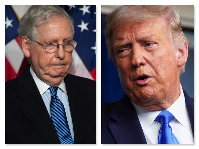 McConnell and Donald Trump