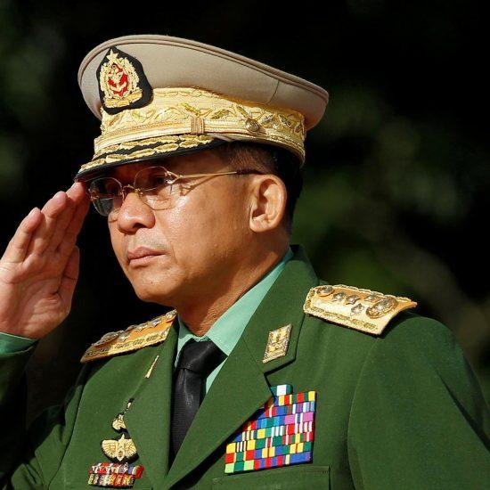 Min Aung Hlaing- head of Myanmar military junta