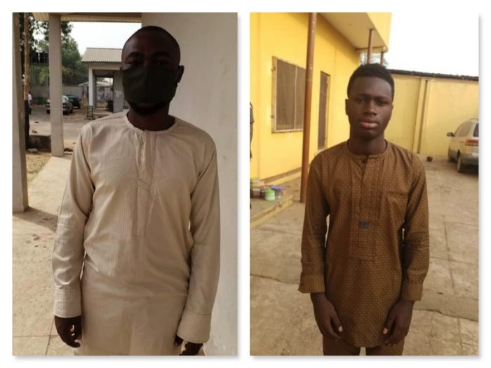 The corps member Abiola and Sadiq