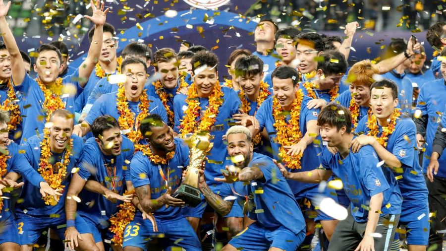 champions Jiangsu FC cease operations