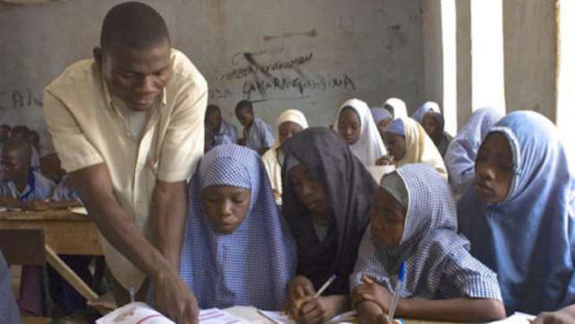 students in a school in Northern Nigeria