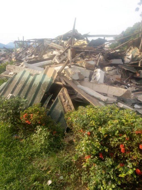 Obaseki also destroyed Ihonvbere's home in Benin