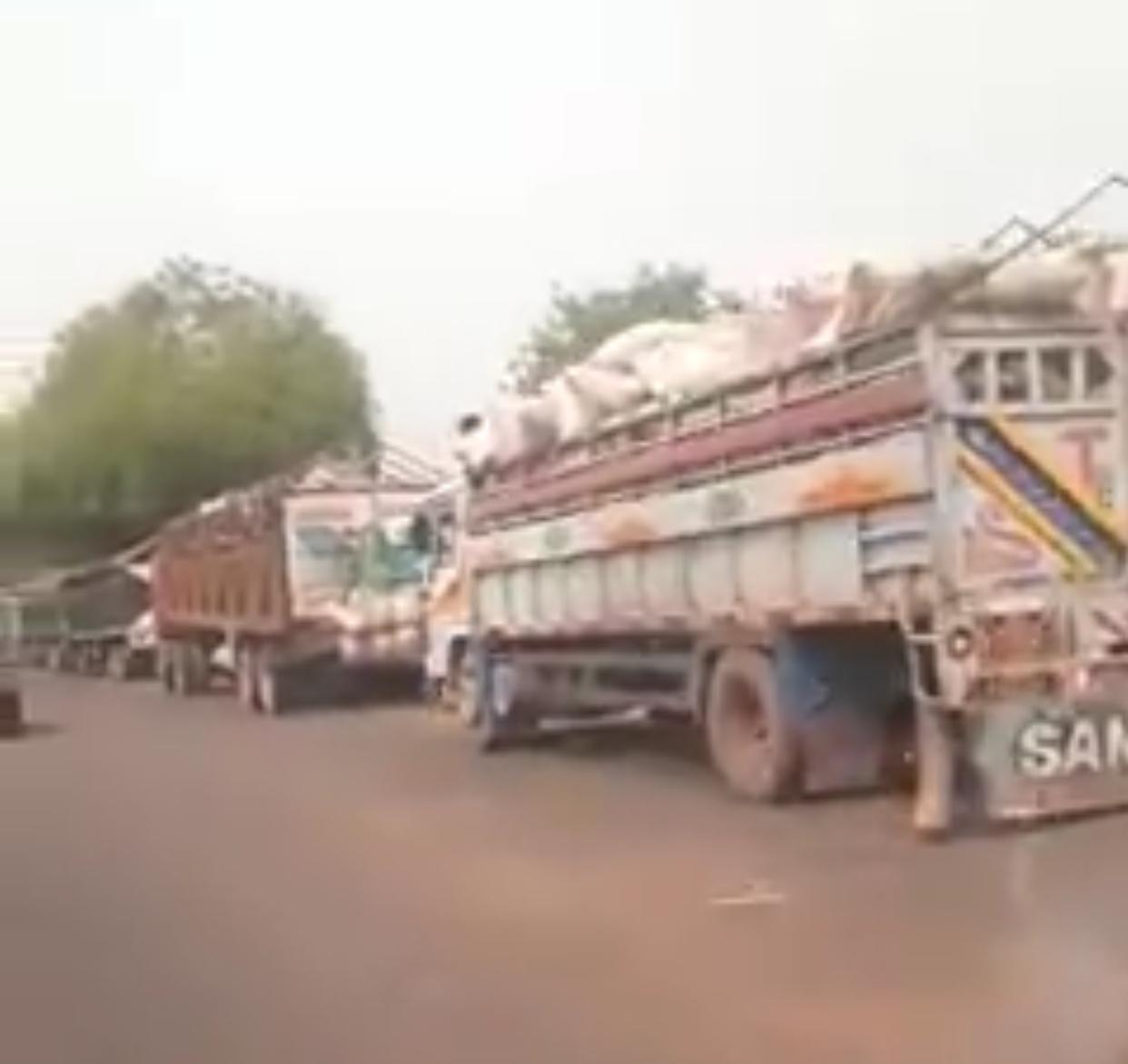 Food trucks marooned in Niger state