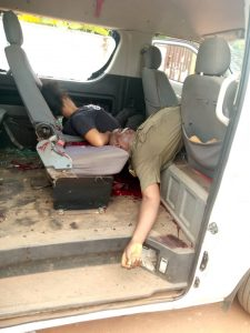 The armed guard of Nigerian Correctional Service and one other person killed by gunmen in Ekwulobia