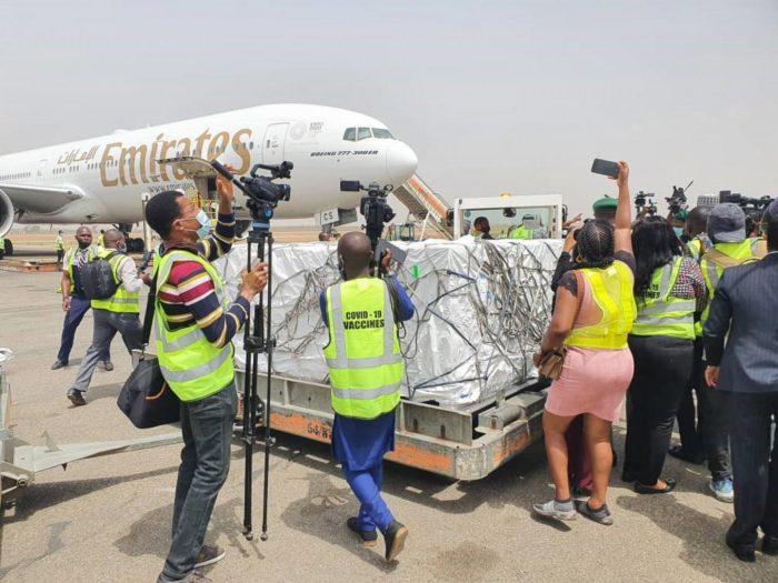 COVID19 Vaccine arrives Nigeria