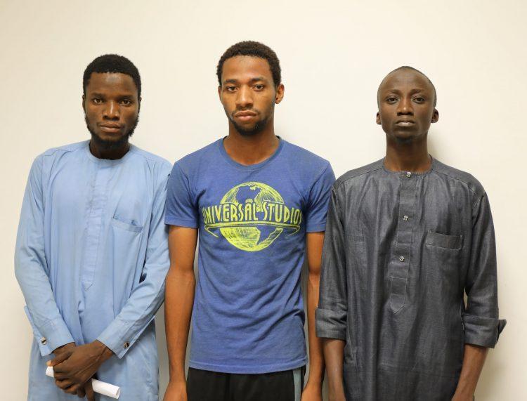 Three suspected internet fraudsters arrested in Niger
