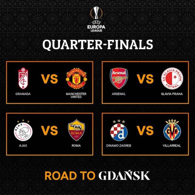 Europa League Quarter finals